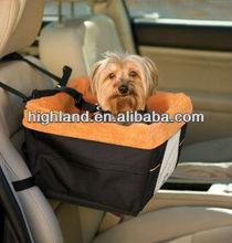 Soft car pet booster seat