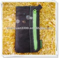 2013 new arrival favorable price ultra-slim nylon black cell phone case for Nokia