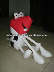 pvc inflatable mouse toys