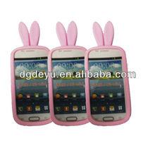 cute silicone case for samsung galaxy s3 mini