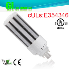 CE RoHS UL cUL approved LED pl lamp G24Q-3 base with 100-277V Isolated driver