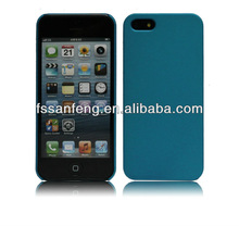 First rate pc plain cell phone case for iphone5,pc hard case for iphone5