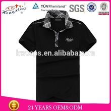 Cheap plain for men custom polo shirt design
