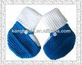 2014 nuevo diseño de alta calidad de la mano de punto bebé zapato 3
