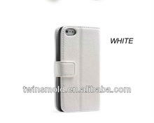 mobile leather phone cases for iphone 5, simple design, 8 COLORS can be chosen.