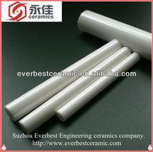 High strength wear resistant alumina ceramic tube& ceramic rod