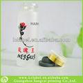Claro frasco de vidro tubular flor da água penies frascos com alumínio- plástico cap