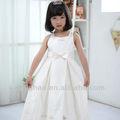 moda 2013 blanco bordado niña vestidos de primera comunión