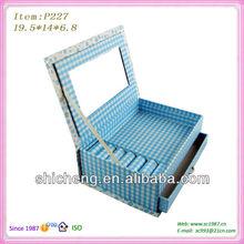 Bule sky cosmetic packaging box