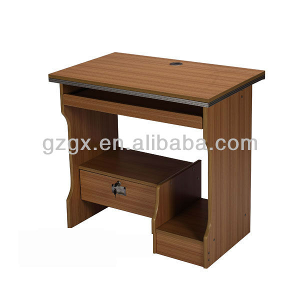 GX-923 simple modern design wood computer table, View wood computer desk, Guangxin Product ...