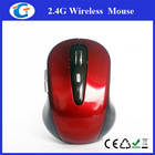 2.4G wireless optical mouse with usb nano driver