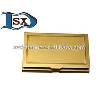 golden promotion aluminum name card case/business card case