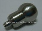 CNC turned part gun ss screws, metal joystick