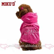 Plastic Dog Raincoat Fashion
