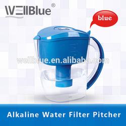 Wellblue BPA Free Plastic Water Jugs With Alkaline Filter Cartridge