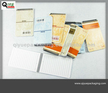 very small notebook,small stationery notebook