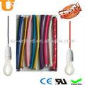 colgante de luz cable de alimentación