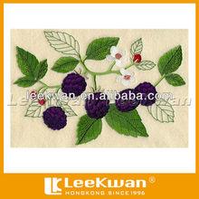 Flower Pattern Embroidered Applique