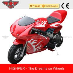 High Quality 350W Electric Pocket bike/ Electric cross bike for Kids (PB008E)