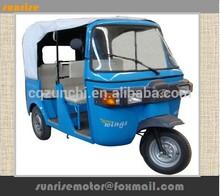 150cc bajaj three wheeler /passenger tricycle /tuk tuk for sale