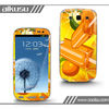 rubber skin for galaxy s3 with 3M print material