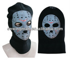 fashion helmet hat Knit Balaclava Beanie hat mask cap skull ghost face hat with 3holes