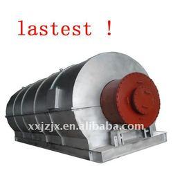 Hard deformation pyrolysis plastic to oil euipment hot sale on alibaba
