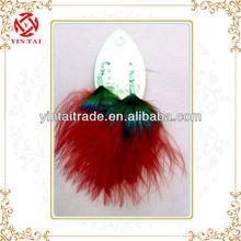 new fancy fluffy feather earring ( new offer)