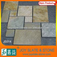400*400MM Natural Grained Rusty Flooring Quartz
