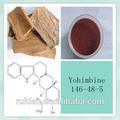 Natural extracto de yohimbe con la yohimbina 8% macho para la ampliación del pene