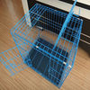 Folding Metal Dog Cage With Plasitc Tray