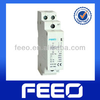 18mm Electrical magnetic AC single pole modular contactor