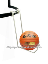 Sports goods metal display hanging hooks shapes basketball hook HSX- 715