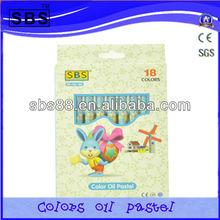 18 color oil pastel pencil/oil pastel tools,