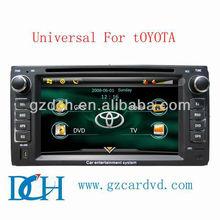 in car dvd universal forTOYOTA RAV4 COROLLA 2006, VIOS LAND CRUISER 4500 HiLux WS-9124