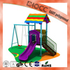 kids indoor playground small combined slide playground for home use