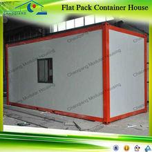 Modern Design Flat Pack Open Side Door House Container