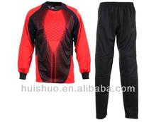 export sports goods soccer jerseys for goalkeeper