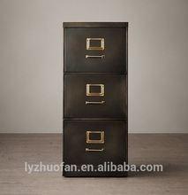 popular office furniture 3 drawer vertical file cabinet