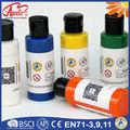 No- tóxico 25ml*5pcs popular pintura al temple