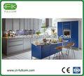 Cor fresca PVC moldado armários de cozinha