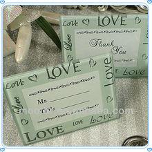 Wedding Favor Place Card Holder Glass For Wedding Centerpiece