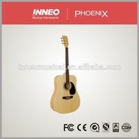 42''Linder Acoustic Guitar,Learn Guitar Chords