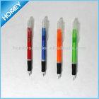 transparent fancy ball pen with grip