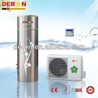 Deron household air source heat pump water heater+water tank(hot water)(CE)