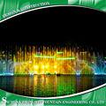 Multi- support fontaine d'eau de show laser