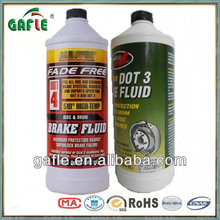 car DOT3 DOT-4 brake fluid
