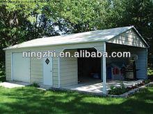 Garage builders building