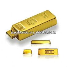 Promotional Gold Bar USB Flash Drive 2GB 4GB 8GB 16GB