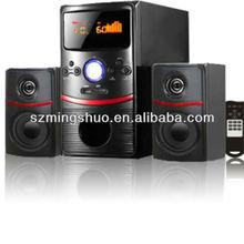 Hot 2.1 amplifier IC speaker usb/sd card fm radio dance display